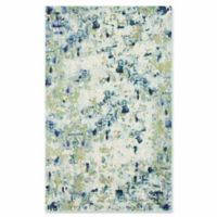 Unique Loom Chromatic Champagne 5' x 8' Area Rug in Light Blue