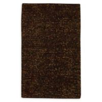 """Nourison Fantasia 3'6"""" x 5'6"""" Shag Handcrafted Area Rug in Brown"""