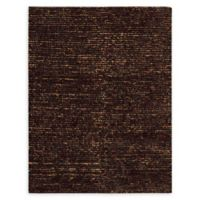 """Nourison Fantasia 5'6"""" x 7'6"""" Shag Handcrafted Area Rug in Brown"""