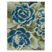 Nourison Impressionist 4'x 6' Handcrafted Area Rug in Green/Blue