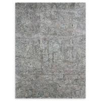 Nourison Gemstone 5'6 x 7'5 Area Rug in Hematite