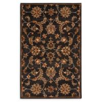 Nourison India House 3'6 x 5'6 Handcrafted Area Rug in Charcoal