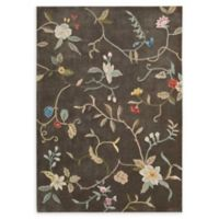 Nourison Contour 5' x 7'6 Handcrafted Area Rug in Tobacco