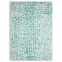 Nourison Gemstone 3'9 x 5'9 Area Rug in Jade