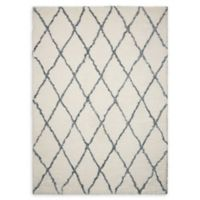 Nourison Galway Trellis 7'6 x 9'6 Area Rug in Ivory/Grey