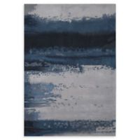Calvin Klein Luster Wash 4' x 6' Area Rug in Shade