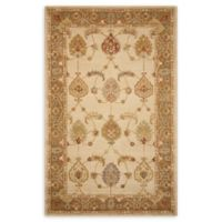 Nourison India House Vintage-Inspired 5' x 8' Rug in Ivory/Gold