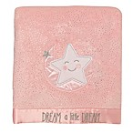 "Baby Starters® ""Dream a Little"" Plush Blanket in Pink"