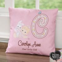 Precious Moments® Personalized 14-Inch Baby Throw Pillow