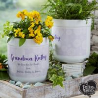 Blooming Precious Moments ® Personalized Flower Pot
