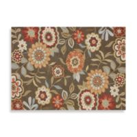 Loloi Rugs Francesca Collection 3-Foot 6-Inch x 5-Foot 6-Inch Decorative Rug in Brown