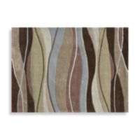 Loloi Rugs Grant Collection 7-Foot 9-Inch x 9-Foot 9-Inch Decorative Rug in Olive/Brown