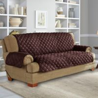 Perfect Fit® NeverWet Sofa Cover in Chocolate