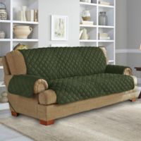 Perfect Fit® NeverWet Sofa Cover in Moss Green