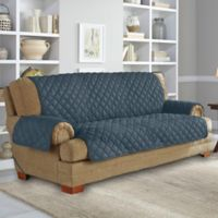 Perfect Fit Neverwet Sofa Cover In Denim