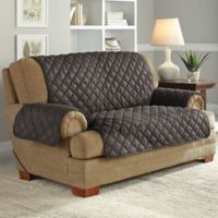Perfect Fit® NeverWet Loveseat Cover in Graphite