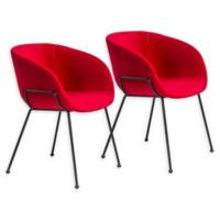 Eurostyle™® Zach Chair in Red