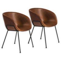 Eurostyle™® Zach Chair in Dark Brown