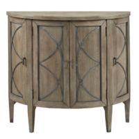 Madison Park Logan Accent Chest in Grey/Pewter