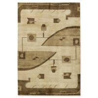 """Bokara® 6'3"""" X 9'2"""" Hand-Knotted Area Rug in Beige/camel"""