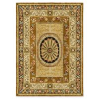 "Bokara® 9' X 11'9"" Hand-Knotted Area Rug in Gold"