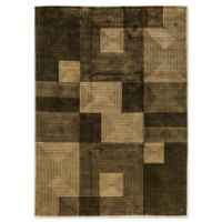 "Bokara® 8'7"" X 11'9"" Hand-Knotted Area Rug in Green"