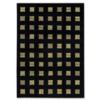 "Bokara® 8'7"" X 11'9"" Hand-Knotted Area Rug in Black"