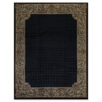 Bokara® 8'11 X 11'9 Hand-Knotted Area Rug in Black