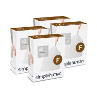 simplehuman® Code F 25-Liter Custom Fit Liners