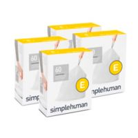 simplehuman® Code E 20-Liter Custom Fit Liners