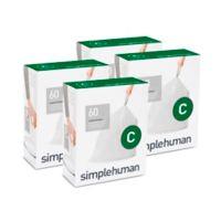 simplehuman® Code C 10-12-Liter Custom Fit Liners