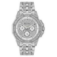 Bulova Octava Men's 42mm 96C134 Swarovski® Crystal Bracelet Watch