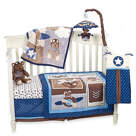 CoCaLo Baby® Lil' Aviator Crib Bedding Collection