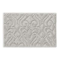 "J. Queen New York™ Lombardi 20"" x 30"" Bath Rug in Silver"