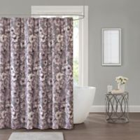 Adaline 72-Inch Square Shower Curtain in Purple
