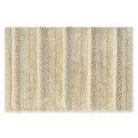 "Textured 21"" x 34"" Bath Rug in Sand"