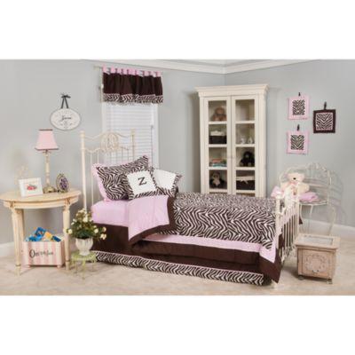 Pam Grace Creations Zara Zebra Twin Bedding Set. Buy Zebra Print Bedding from Bed Bath   Beyond