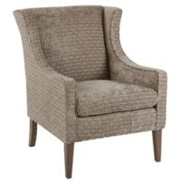 Madison Park™ Polyester Upholstered Addy Chair in Mushroom