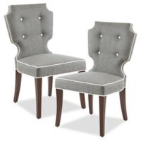 Madison Park™ Polyester Upholstered Murphy Dining Chairs in Grey (Set of 2)
