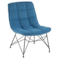 Lumisource® Polyester Upholstered Quad Chair in Blue