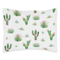 Sweet Jojo Designs Cactus Floral Standard Pillow Sham