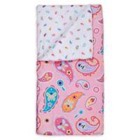Wildkin Paisley Kids' Sleeping Bag in Pink