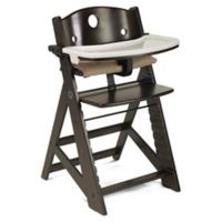 Keekaroo® Height Right High Chair with Tray in Espresso