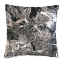 Liora Manne Lamontage Indoor/Outdoor Square Throw Pillow in Grey