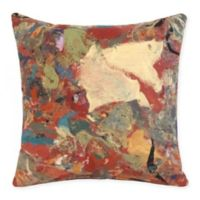 Liora Manne Lamontage Indoor/Outdoor Multicolor Square Throw Pillow