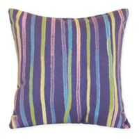 Liora Manne Ombre Square Throw Pillow in Purple