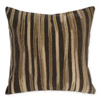 Liora Manne Ombre Square Throw Pillow in Brown