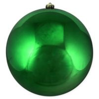 Northlight® 10-Inch Shiny Ball Ornament in Green