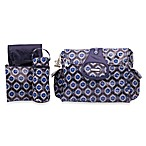 Kalencom Elite Diaper Bag in Navy Medallion
