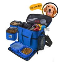 Overland Dog Gear Week Away Dog Bag in Royal Blue